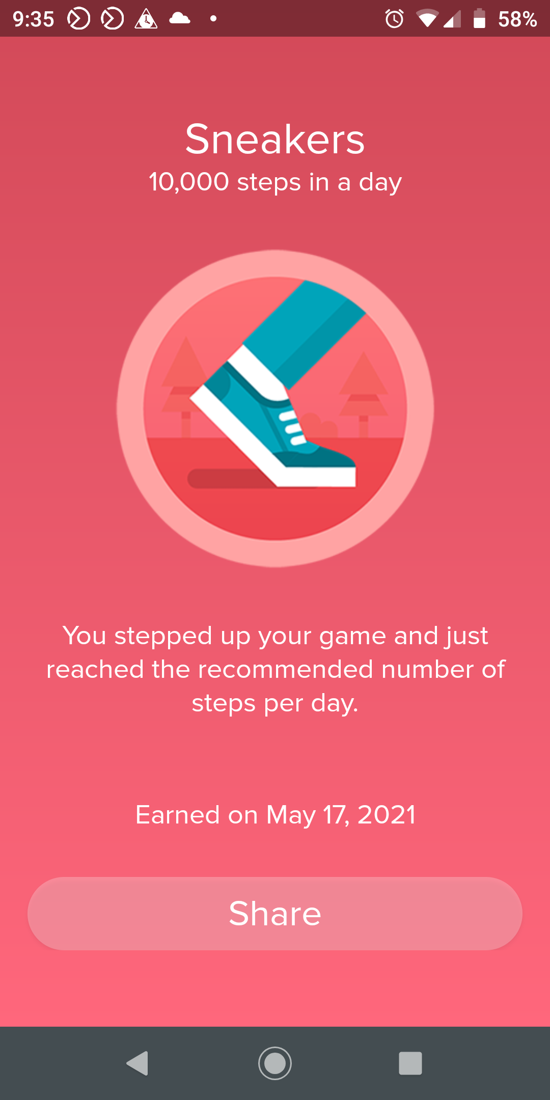 Fooled the Fitbit